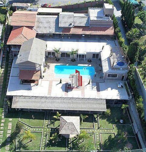 Chácara Com 5 Dormitórios À Venda, 7500 M² Por R$ 2.500.000,80 - Porta Do Sol - Mairinque/sp - Ch0002