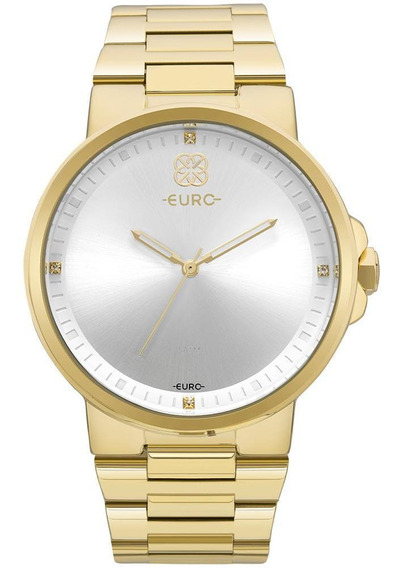 Relógio Euro Feminino Minimal Dourado - Eu2035yld/4b