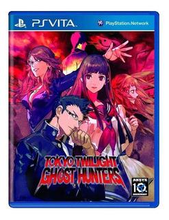 Tokyo Twilight Ghost Hunters Ps Vita Mídia Física