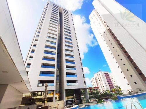 Apartamento Com 3 Dormitórios À Venda, 115 M² Por R$ 1.102.956,46 - Aldeota - Fortaleza/ce - Ap0827