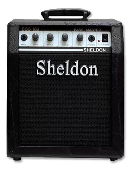 Amplificador Cubo Para Contrabaixo Sheldon Bss-180 Promoção!