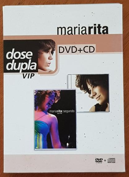 Dvd + Cd Maria Rita Dose Dupla Vip Segundo
