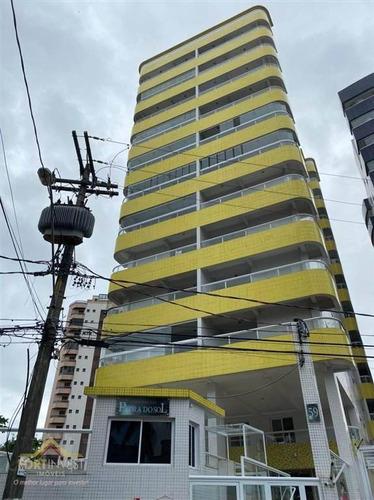 Imagem 1 de 21 de Apartamento Com 2 Dormitórios À Venda, 80 M² Por R$ 330.000,00 - Mirim - Praia Grande/sp - Ap2536