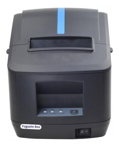 Impressora Termica Codigo De Barras Cupom 80mm Qr Usb Serial