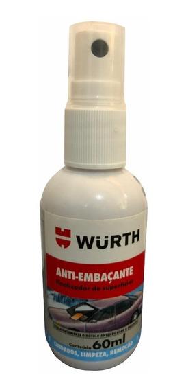 Anti Embaçante Wurth 60ml Vidro Automotivo Box Banho Espelho