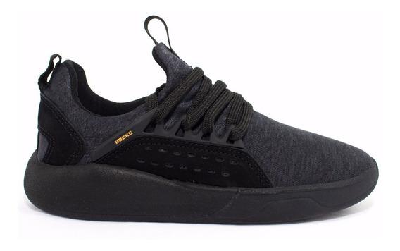 Tênis Hocks Le Parc Preto Black Yellow Sneaker Original