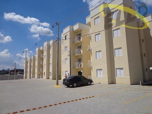 Apartamento Com 2 Dormitórios À Venda, 50 M² - Jardim Portão Vermelho - Vargem Grande Paulista/sp - Ap0438