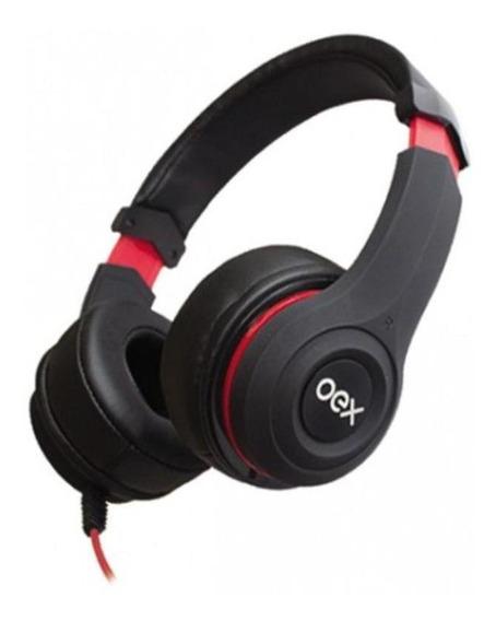 Headphone Ajustável Oex Smooth Hs 204 Isolamento Acústico