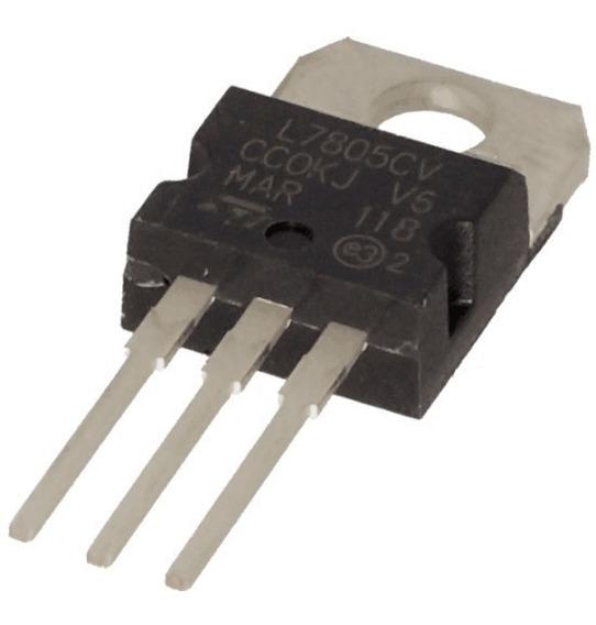 Regulador De Tensão 5v L7805 L7805cv