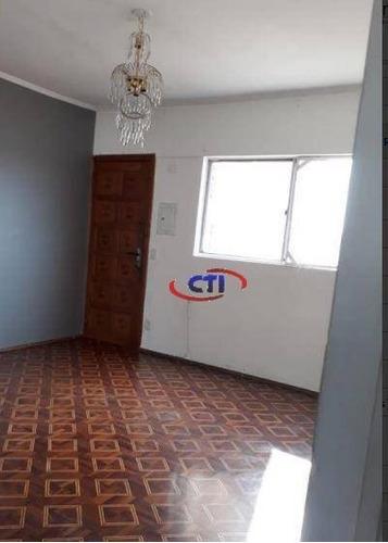 Apartamento Com 2 Dormitórios À Venda, 66 M² Por R$ 250.000,00 - Paulicéia - São Bernardo Do Campo/sp - Ap3395