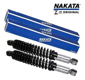 Amortecedor Traseiro Moto Yamaha Ybr/factor 125 Nakata (par)