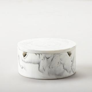 Alhajero Cerámica Blanco Con Espejo