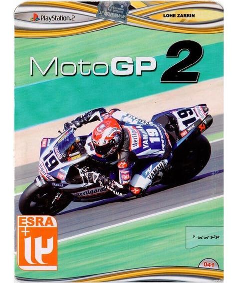 Moto Gp 2 Original Ps2 - Versão Japonesa (disco)