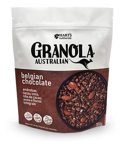 Granola Australia Belgian Sabor Chocolate Belga Hart´s 300g