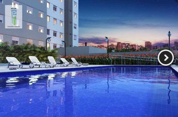 Apartamento Com 2 Dormitórios À Venda, 41 M² Por R$ 261.200,00 - Vila Nova Cachoeirinha - São Paulo/sp - Ap0763