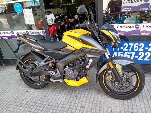 Bajaj Rouser Ns Fi 200 Abs  Alfamotos  Tomo Motos