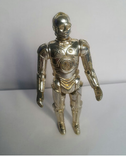 Star Wars Vintage Kenner C3 Po(no Hago M.env)