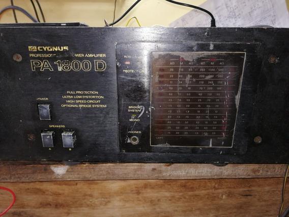 Amplificador Cygnus 1800d
