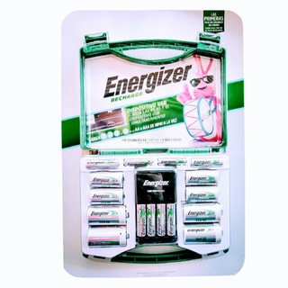 Baterías Recargables Energizer Pilas Aa Aaa C Y D + Cargador