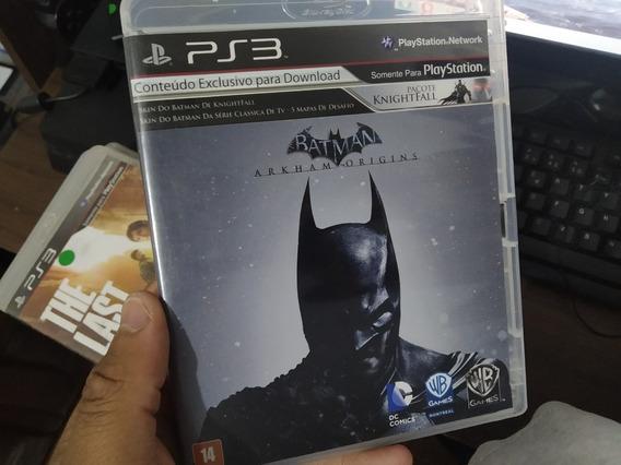 Batman Arkham Origins Ps3 Mídia Física Usado
