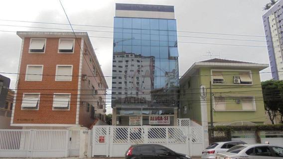 Prédio Comercial Para Locação, Embaré, Santos. - Pr0046