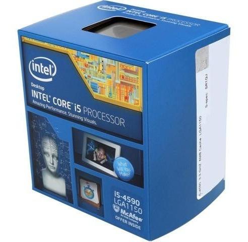 Processador Core I5 4590 1150 3,3 Ghz Na Caixa 12x Sem Juros
