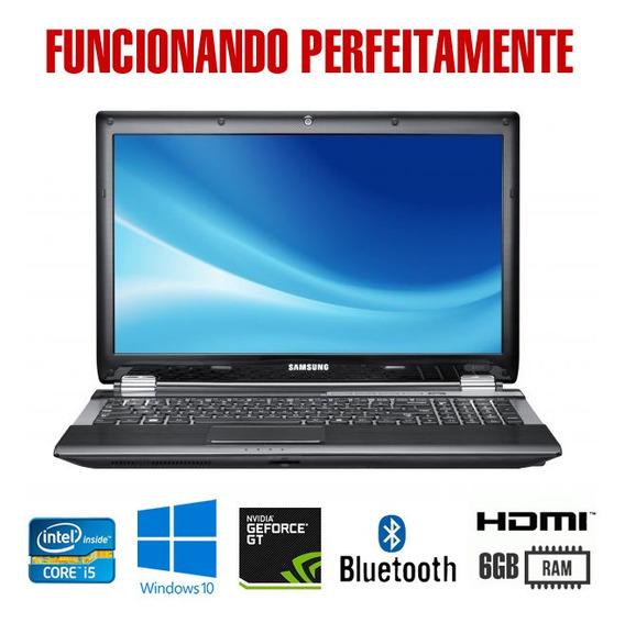 Notebook Gamer Rf511 Samsung - Intel Core I5 - Nvidia Gt540m
