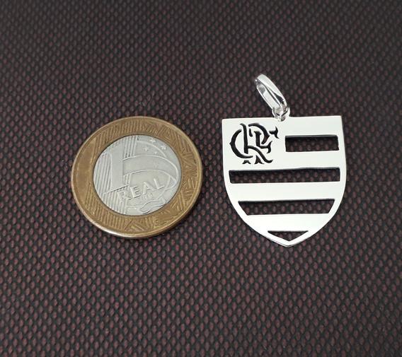 Pingente De Prata Flamengo. Fabricamos Outros! Joia Origina!