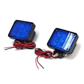 Flasher Azul 12-24v Wf25s.