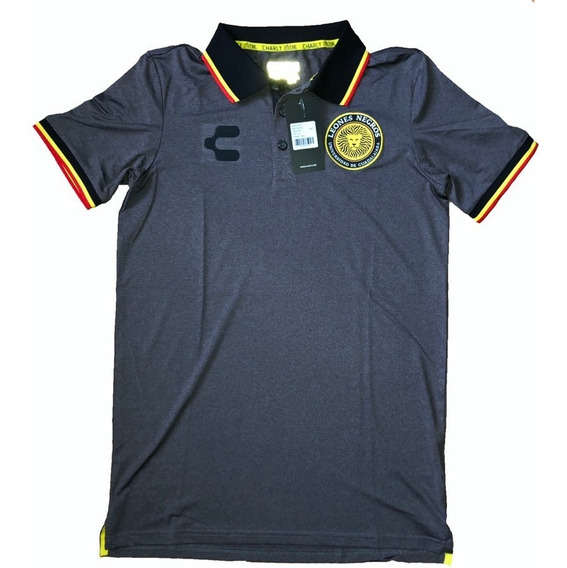 Playera Leones Negros Tipo Polo Charly Original