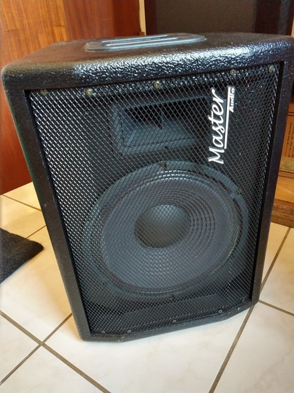 1 Kit Monitor Ativo + Passivo M12-200 Master Áudio