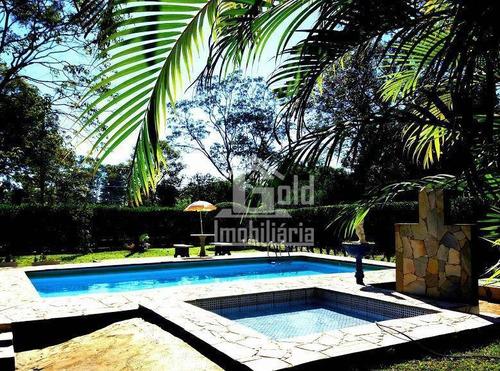 Chácara Com 6 Dormitórios À Venda, 5352 M² Por R$ 900.000 - Recreio Internacional - Ribeirão Preto/sp - Ch0024