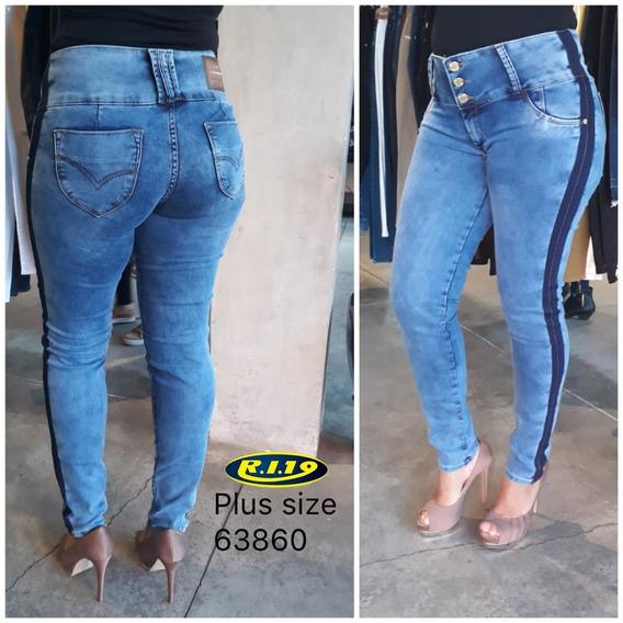 Calça Jeans Feminina Ri19 Extra Plus Size 63860