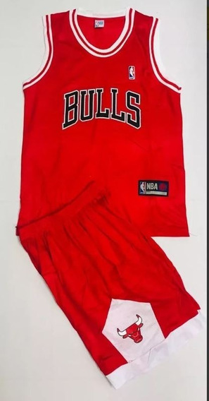 Uniforme Basketball Baloncesto Nba Chicago Bulls Adulto