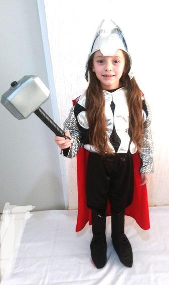 Disfraz De Thor Para Niño Super Heroes Marvel