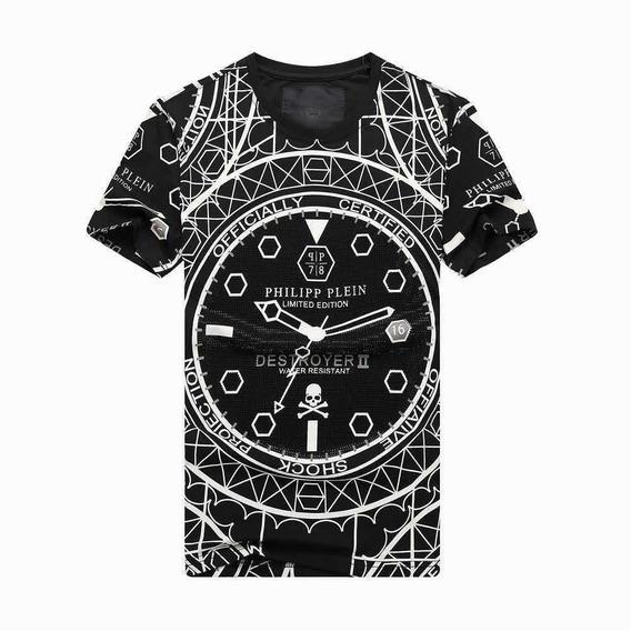 Camiseta Philipp Plein Exclusiva Pronta Entrega