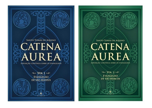 Kit Catena Aurea - Volumes 1 E 2