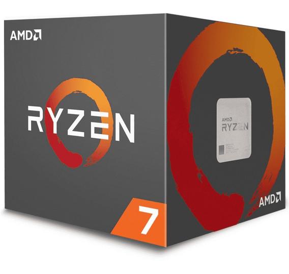 Processador Amd Ryzen 7 2700x, Cooler Wraith Prism, Cache 20