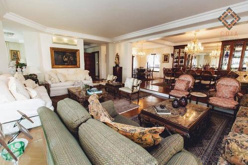 Apartamento Com 4 Dormitórios À Venda, 380 M² Por R$ 4.980.000,00 - Jardim Paulista - São Paulo/sp - Ap20750