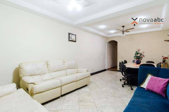 Casa Com 4 Dormitórios Para Alugar, 310 M² Por R$ 3.800,00/mês - Vila Valparaíso - Santo André/sp - Ca0244