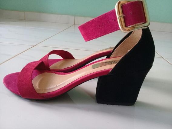 Sandalia Salto Medio