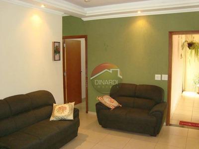 Casa Residencial À Venda, Jardim Doutor Paulo Gomes Romeo, Ribeirão Preto. - Ca6145