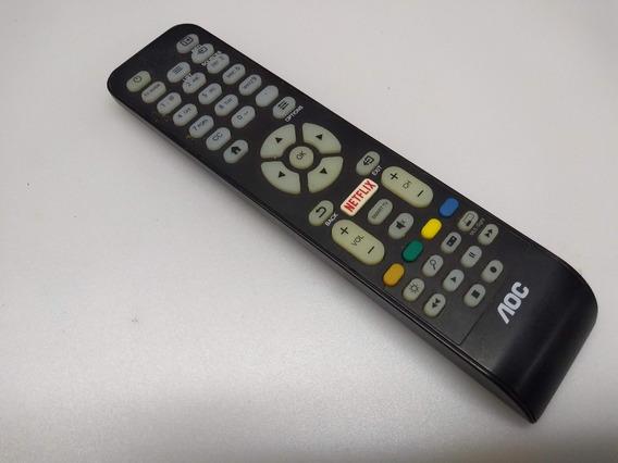 Controle Remoto Tv Aoc Smart Netflix Rc1994713