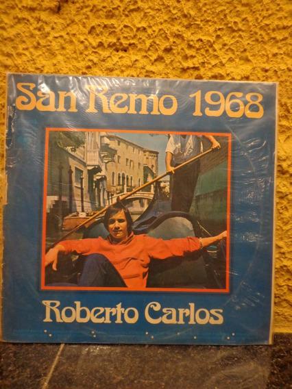 Antigo Vinil Roberto Carlos San Remo 1968 - R 4757