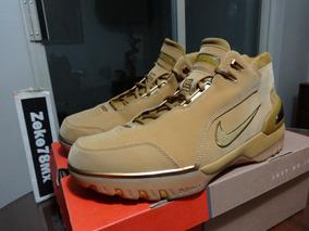 Nike Zoom Generation Wheat 2003 Lebron Jordan Kobe Zeke78mx