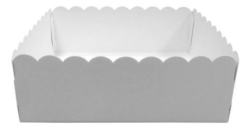Imagen 1 de 1 de Bandeja De Cartulina 15x15x6,5 X 10 Unidades