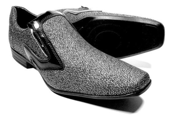 Sapato Masculino Brilho Festa Formatura Elegante Casamento