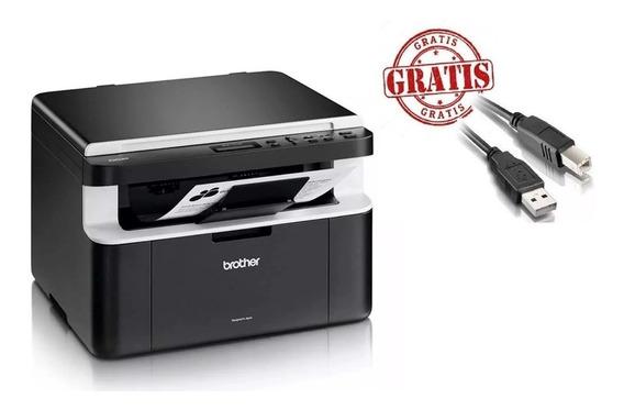 Multifuncional Impressora Brother Dcp-1602 1602 Gratis Usb