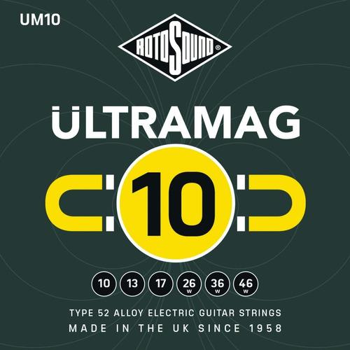 Cuerdas Guitarra Electrica Rotosound Ultramag Um10