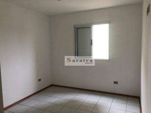 Apartamento À Venda, 70 M² Por R$ 276.000,00 - Parque Erasmo Assunção - Santo André/sp - Ap3981